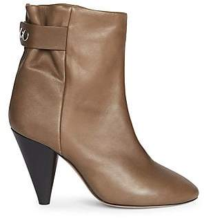 Isabel Marant Women's Lystal Leather Ankle Boots