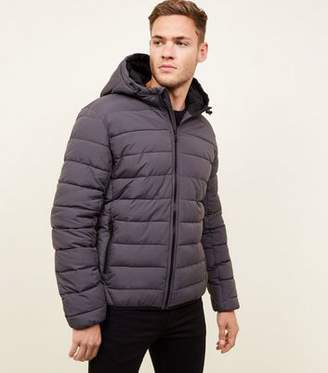 ffb4bf87dfdc Hooded Black Puffer Jacket Men - ShopStyle UK