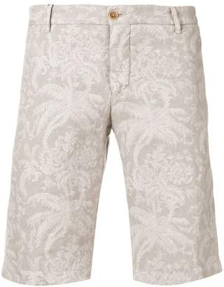 Etro floral print chino shorts