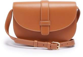 A.P.C. Eloise Leather Cross Body Bag - Womens - Camel