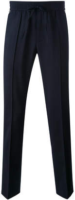 Vince contrast piping jogging trousers