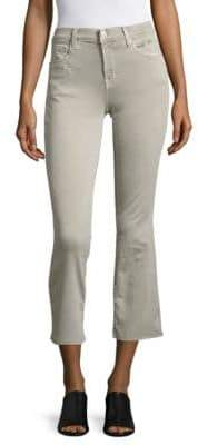 J Brand Cropped Boot Cut Jeans