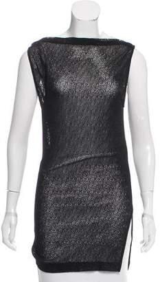 CNC Costume National Sleeveless Knit Top