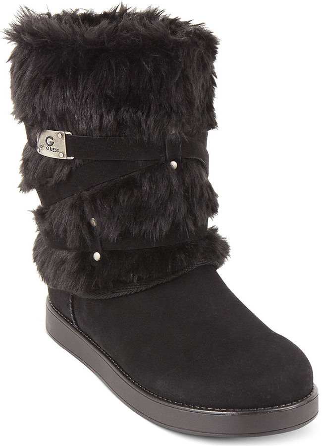 G by GUESS Archy Faux-Fur Cold Weather Boots 4