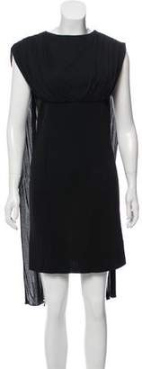 Balenciaga Draped Mini Dress
