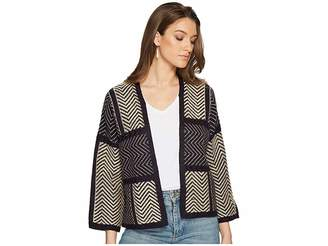 Lucky Brand Ziggy Cardigan Women's Sweater