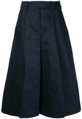 Jil Sander Navy wide leg culottes