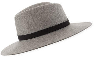 Rag & Bone Zoe Wool Fedora Hat