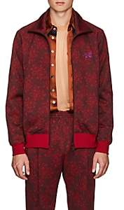 Needles Men's Floral Jersey Track Jacket - Wine