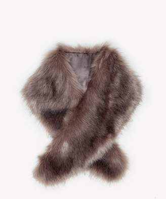 Sole Society Large Faux Fur Stole