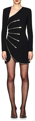 Alexander Wang Women's Zip-Detailed Minidress