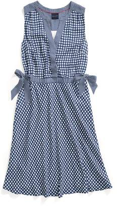 Tommy Hilfiger Sleeveless Gingham Dress