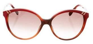 Chloé Round Gradient Sunglasses