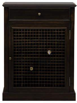 Co Darby Home Biali 16 Bottle Floor Wine Cabinet