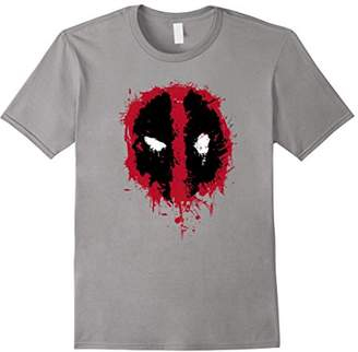 Marvel Deadpool Splatter Icon Graphic T-Shirt