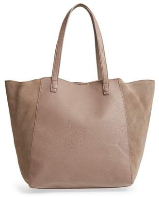 Sole Society Wesley Slouchy Suede Tote