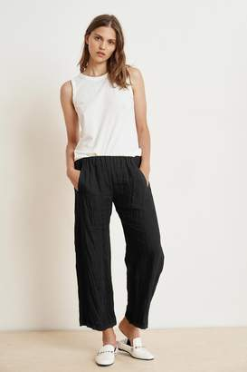 Velvet by Graham & Spencer LOLA WOVEN LINEN PANT