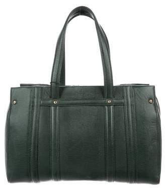 Brooks Brothers Textured Leather Shoulder Bag