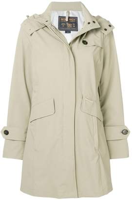 Woolrich hooded coat