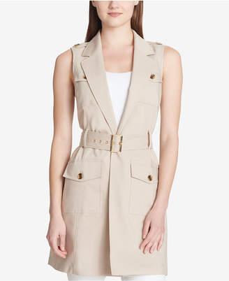 Calvin Klein Belted Trench Vest