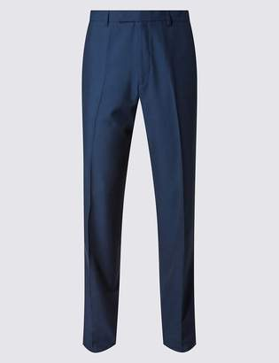 M&S CollectionMarks and Spencer Indigo Tailored Fit Trousers
