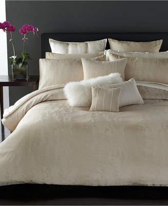 "Donna Karan Closeout! Moonscape 12"" Square Decorative Pillow Bedding"