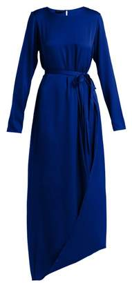 Carl Kapp - Topaz Silk Blend Dress - Womens - Blue