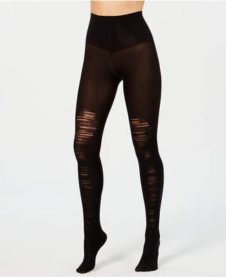Spanx Tummy-Shaping Destroyed Tights #20176R-BND1