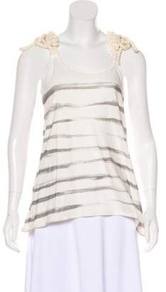 Sass & Bide Linen-Blend Sleeveless Top w/ Tags