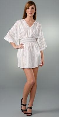 Sunner Shirred Tunic Dress
