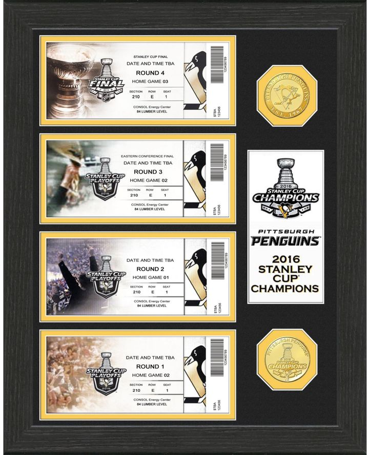 NHL 2016 Stanley Cup Champions Ticket Collection