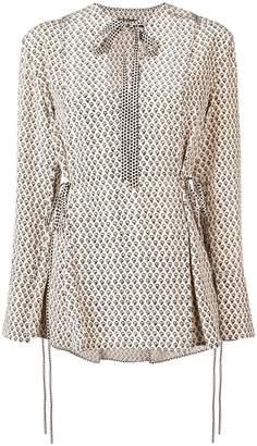 Proenza Schouler lace up blouse