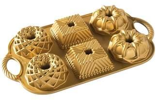 Nordicware Gold Geo Bundtlette Pan