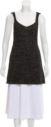 Hache Sleeveless Knit Sweater