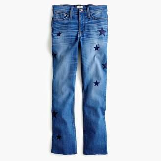 J.Crew Petite Billie demi-boot crop jean: star edition