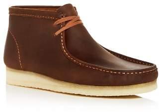 Clarks Men's Wallabee Leather Chukka Boots