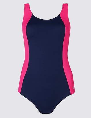 Marks and Spencer Secret SlimmingTM Colour Block Swimsuit