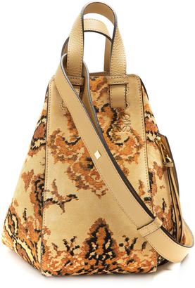 Hammock Tapestry small suede bag