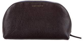 Smythson Grained Leather Cosmetic Bag