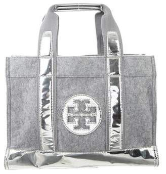 Tory Burch Flannel Tory Tote