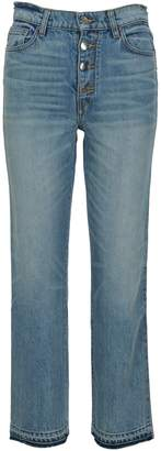 Amiri Cropped Straight Jeans