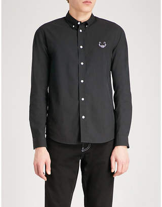 Kenzo Embroidered casual-fit cotton shirt