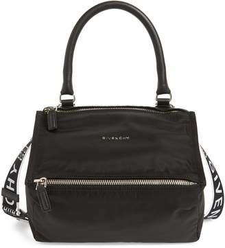 Givenchy Small Pandora - Logo Nylon Satchel