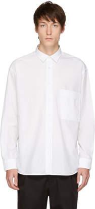 HUGO White Paper One Pocket Shirt
