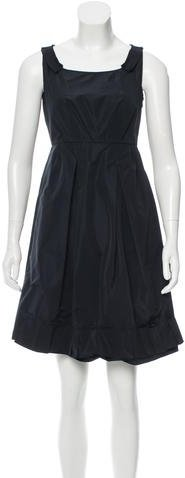 Miu Miu Miu Miu A-Line Mini Dress