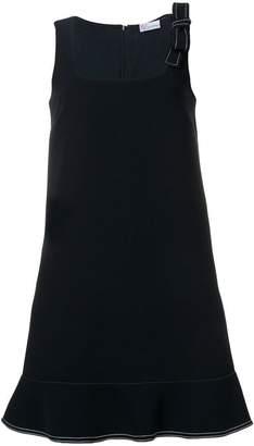 RED Valentino bow strap dress