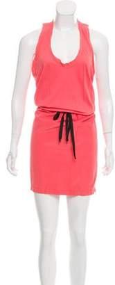 Clu Sleeveless Drawstring Dress