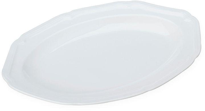 Mikasa Antique White Oval Porcelain Serving Platter
