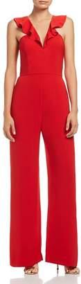 WAYF Sheryl Ruffle Jumpsuit