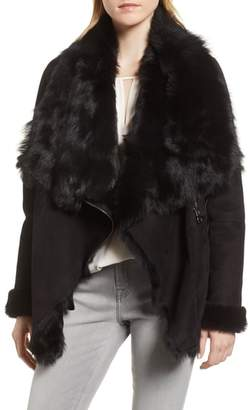 HiSO Berlin Genuine Toscana Shearling Coat